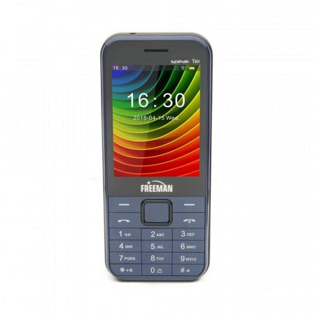 Telefon Mobil Freeman Speak T301 - Display TFT Dual Sim Camera Bluetooth Albastru