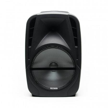 Boxa Freeman Karaoke 1001 cu microfon telecomanda Bluetooth USB Radio FM SD Card Aux Mp3 player - Produs Resigilat