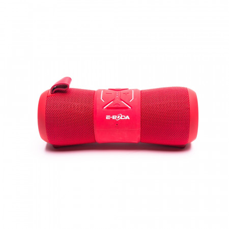 Boxa portabila Bluetooth E-Boda Pro Sound - Rosu Autonomie 6-9 ore Rezistent la apa (IP67) Microfon incorporat