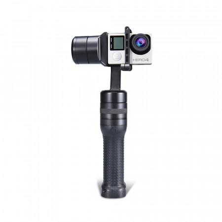 Gimbal 3 axe compatibil cu majoritatea camerelor video sport GoPro SjCAM E-Boda Evolio - Produs resigilat