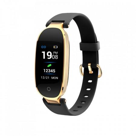 Produs resigilat - Bratara fitness E-BODA Fitness 400, Display color, TFT 0.96 inch, Gold