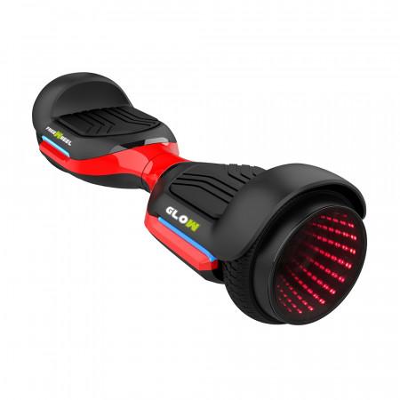 Scooter Electric (Hoverboard) Freewheel Glow, Indicator acumulator, Viteza 12 km/h, Autonomie pana la 18 km, Motor 2 x 250W