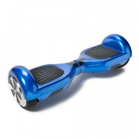 Scooter electric (Hoverboard) LexGo Boxter Albastru - Autonomie 20 Km 12 Km/h Motor 2 x 350W - Produs Resigilat