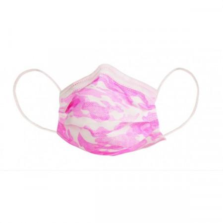 Set 20 buc, masca medicala de protectie pentru copii - Fete, de unica folosinta