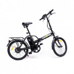 Bicicleta Electrica FreeWheel EBike Urban Negru - Autonomie 20-25km Viteza 25km/h Motor 250W - Produs Resigilat