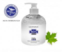 Gel igienizant GOTDYA- 500 ML, 75% Alcool, Acreditat ANMDMR
