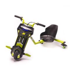Tricicleta Electrica Freewheel Drift Trike Super Power - Autonomie 12-15 Km 15 Km/h Motor 250W Verde - Produs Resigilat