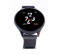 Ceas Smartwatch E-BODA Smart Time 450, Touch, Display 1.3 inch, Bluetooth, Negru