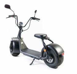 Moped Electric FreeWheel City Rider Negru Autonomie 40-60 km Viteza 40 km/h Motor de 1000W Brushless