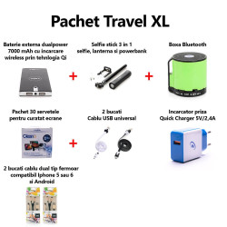 Pachet accesorii pentru calatorii Travel XL