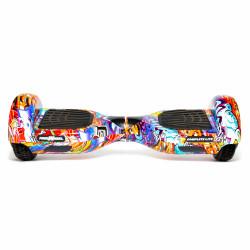 Hoverboard Freewheel Complete Lite Albastru - Autonomie 8-12 Km, Bluetooth, LED-uri, Difuzoare