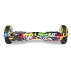 Scooter electric (hoverboard) Freewheel F1 - Graffiti Galben - Produs resigilat