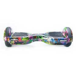 Scooter electric (hoverboard) Freewheel SMART - Graffiti mov - Produs Resigilat