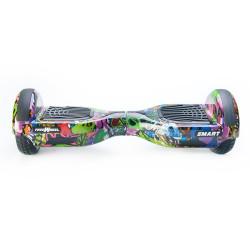 Scooter electric (hoverboard) Freewheel SMART - Graffiti mov - Produs Resigilat