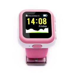 Smartwatch Kids cu GPS SIM Wi-Fi monitorizare copii roz - produs resigilat