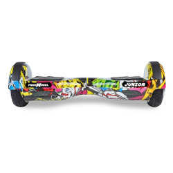 Scooter electric (hoverboard) Freewheel Junior - Graffiti galben - Produs resigilat
