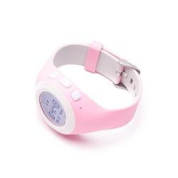 Smartwatch Safe Kids cu GPS, SIM, monitorizare copii, Roz - Produs Resigilat