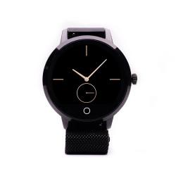 Ceas Smartwatch E-boda STime Raven - App Anti-Pierdere Metalic Negru - Produs Resigilat