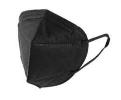 FFP2 KN95 Negru - Masca de protectie, cutie de 20 buc, ambalate individual