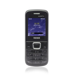 "Telefon mobil barphone Freeman 1,8"" T100 negru/rosu Dual SIM - produs resigilat"