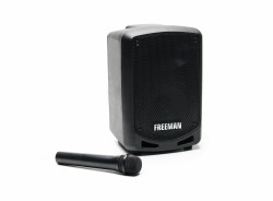 Boxa Freeman Karaoke 1001 Mini cu microfon Bluetooth USB Radio FM TF Card Aux Mp3 player - Produs Resigilat