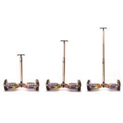 Hoverboard Stick FreeWheel Assistant 110 Telescopic Auriu - Produs resigilat