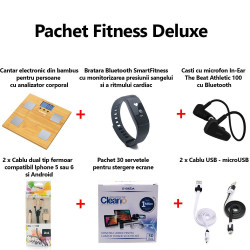 Pachet accesorii fitness Deluxe