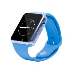 Smartwatch E-Boda Smart Time 310 - Albastru, Bluetooth, Camera, Slot SIM, Apelare telefonica, Notificari si mesaje, Monitorizare somn