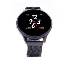 Ceas Smartwatch E-BODA Smart Time 450, Touch, Display 1.3 inch, Bluetooth, Negru - Produs Resigilat