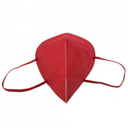 FFP2 KN95 Rosu - Masca de protectie, cutie de 20 buc, ambalate individual