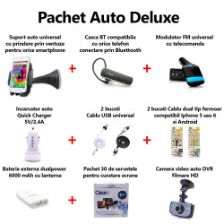 Pachet special accesorii auto Deluxe