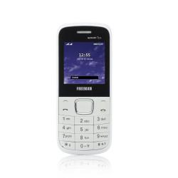 "Telefon mobil barphone Freeman 1,8"" T100 alb/rosu Dual SIM - produs resigilat"