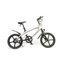 Bicicleta Electrica FreeWheel E-Bike Revo - Argintiu Autonomie 50-60 km Viteza 25 km/h Motor 240W Brushless
