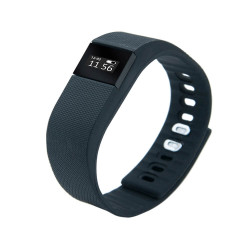 Bratara Bluetooth Smart Fitness 100 - App Notificari IP55 Negru
