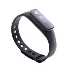 Bratara Bluetooth SmartFitness 120 HR neagra - Produs resigilat