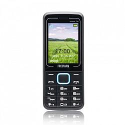 "Produs Resigilat - Telefon mobil barphone Freeman Speak 2,4"" T205 Dual SIM - albastru"