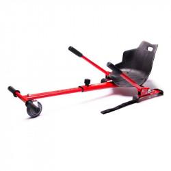 "Freewheel Kart Kit rosu pentru scootere electrice (Hoverseat) cu rotile intre 6,5"" si 10"""