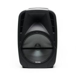 Produs Resigilat - Boxa Freeman Karaoke 1001 cu microfon telecomanda Bluetooth USB Radio FM SD Card Aux Mp3 player -