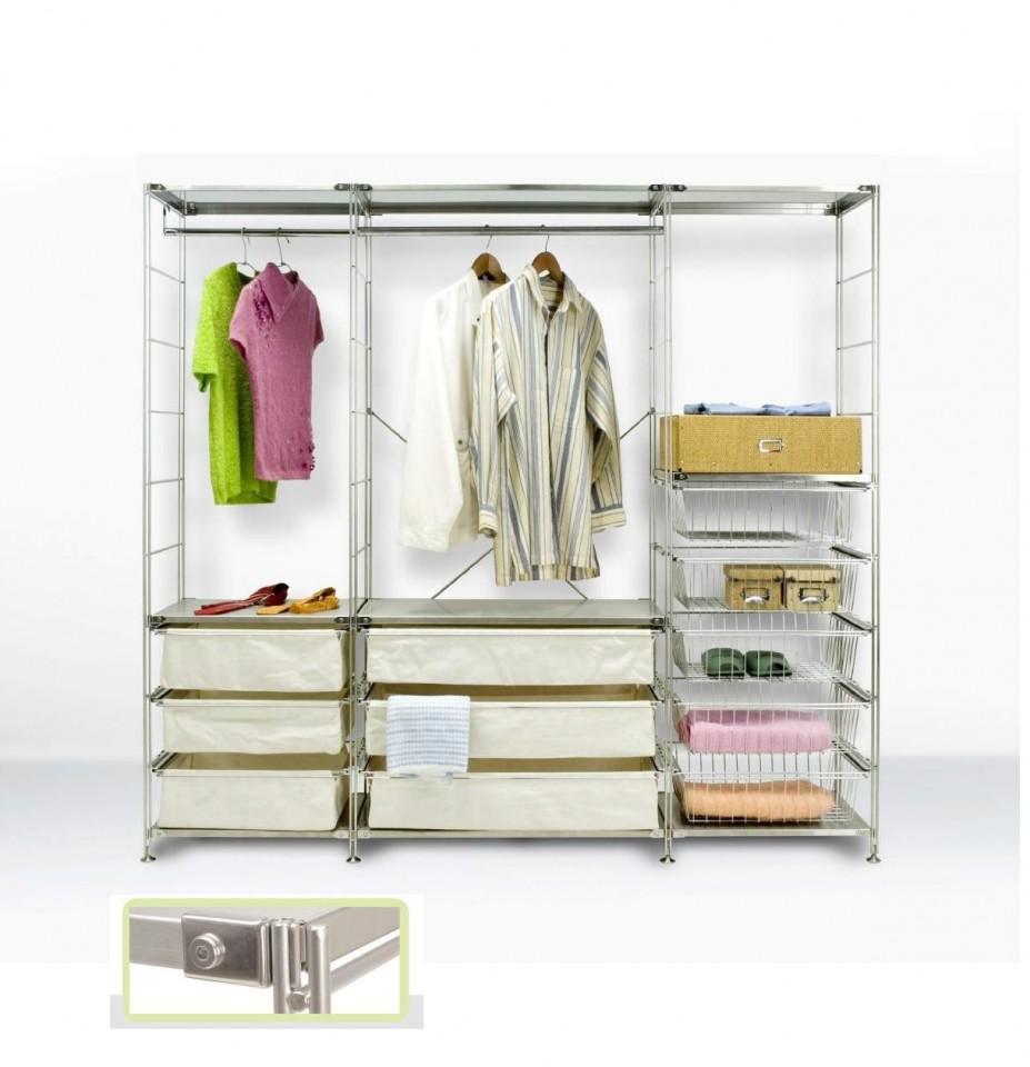 Scaffali Per Cabina Armadio cabina armadio galileo moderna di design