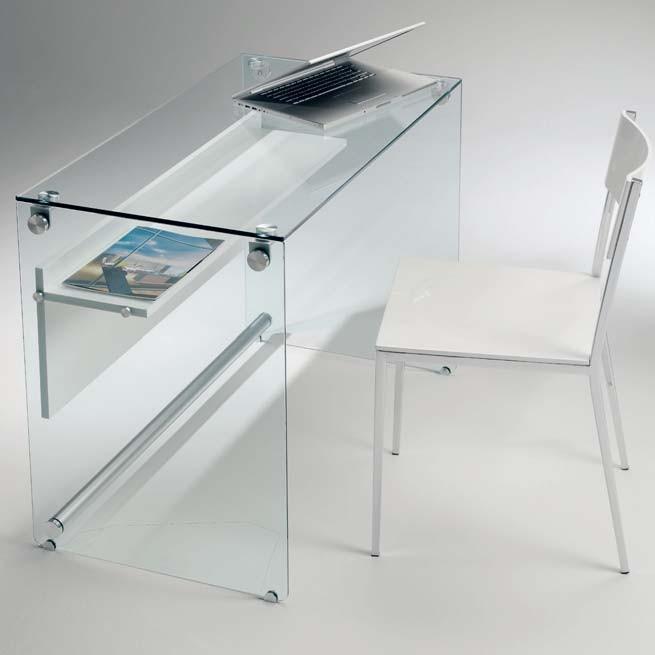 scrivania vetro PC03 scriba