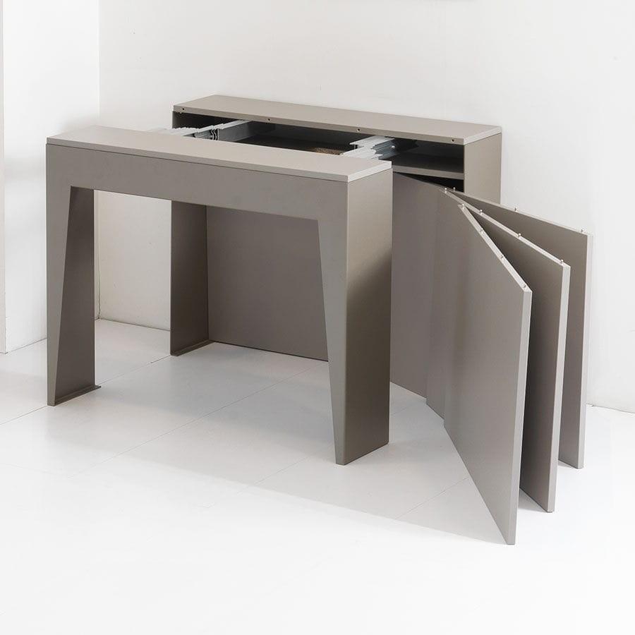 Tavolo consolle allungabile marvel di pezzani for Consolle tavolo