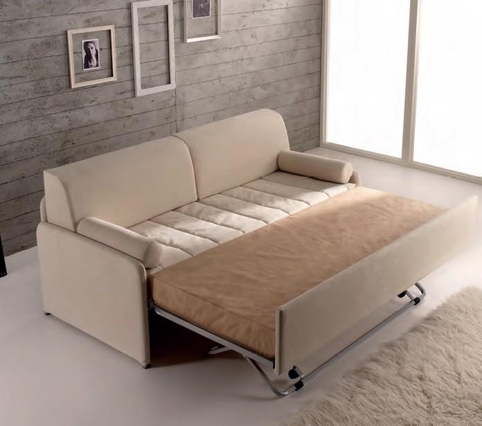 Divano letto con letto estraibile clochard di hoppl - Letto estraibile ...