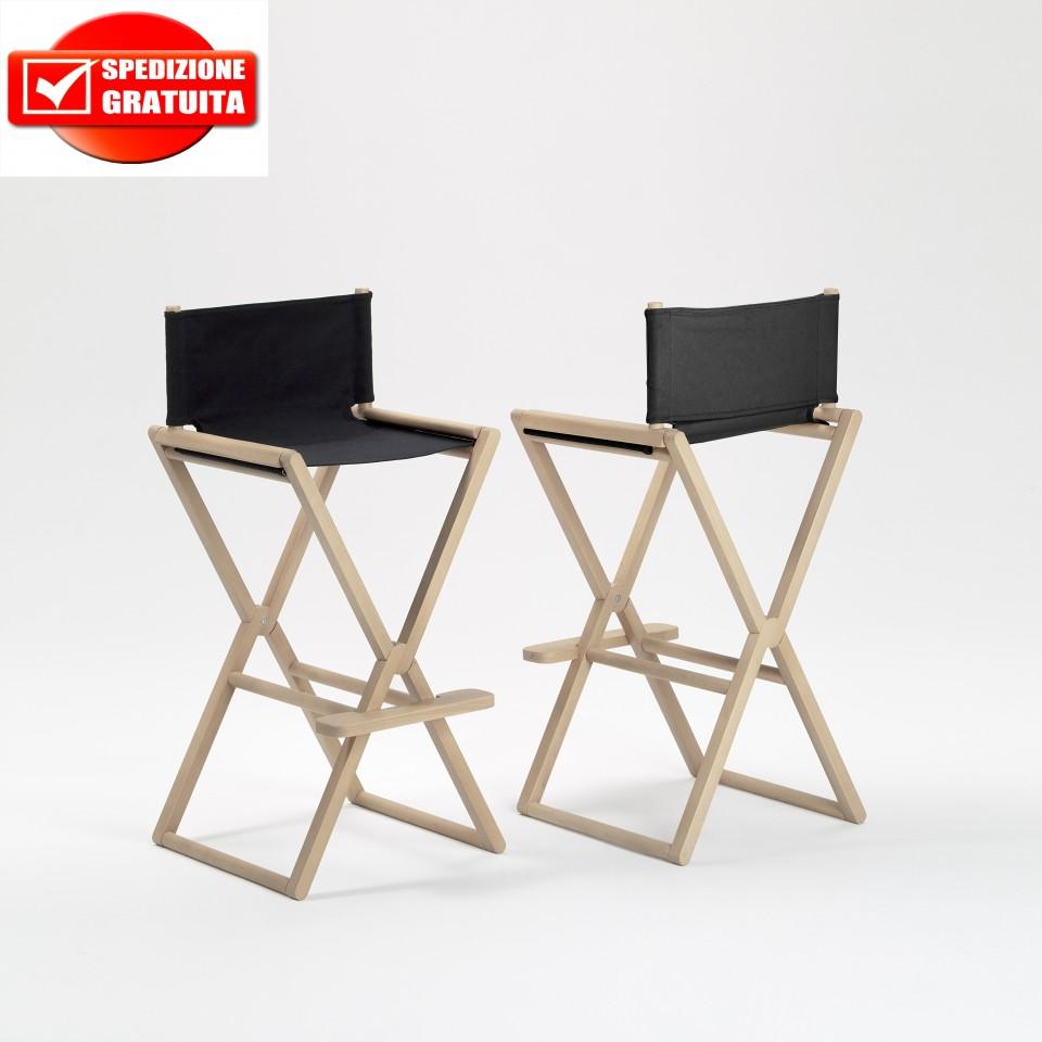 Sgabello pieghevole treee set high stool di caon arreda for Sgabello pieghevole