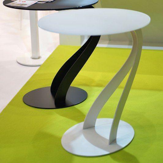 Tavolino swan 0 26 bianco di pezzani - Tavolini per tv ikea ...