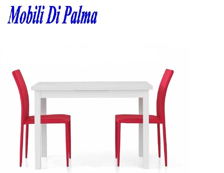 Tavolo economico allungabile per cucina 558 - Mobili di palma ...