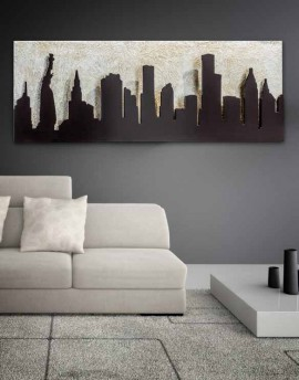 QUADRO MANHATTAN DI PINTDECOR
