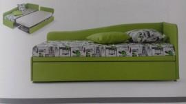 divano letto singolo con secondo letto estraibile ISA05 immagini
