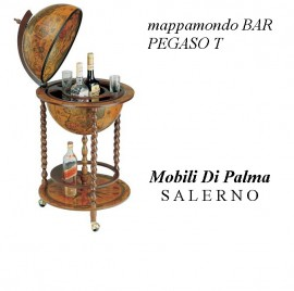 MOBILE BAR MAPPAMONDO PEGASO
