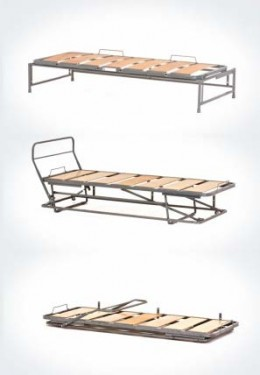 divano letto singolo con secondo letto estraibile ISA05