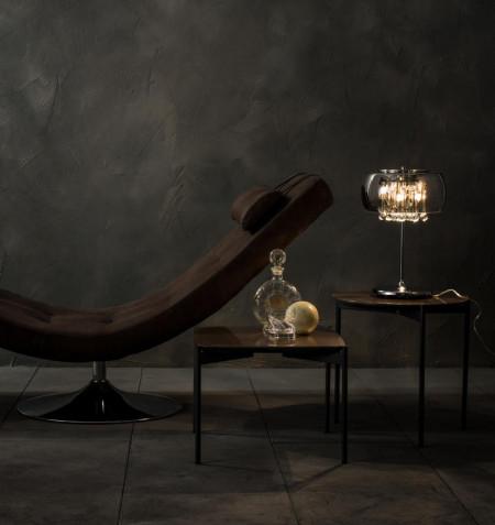 lampada da tavolo di design mirror la/048 di stones